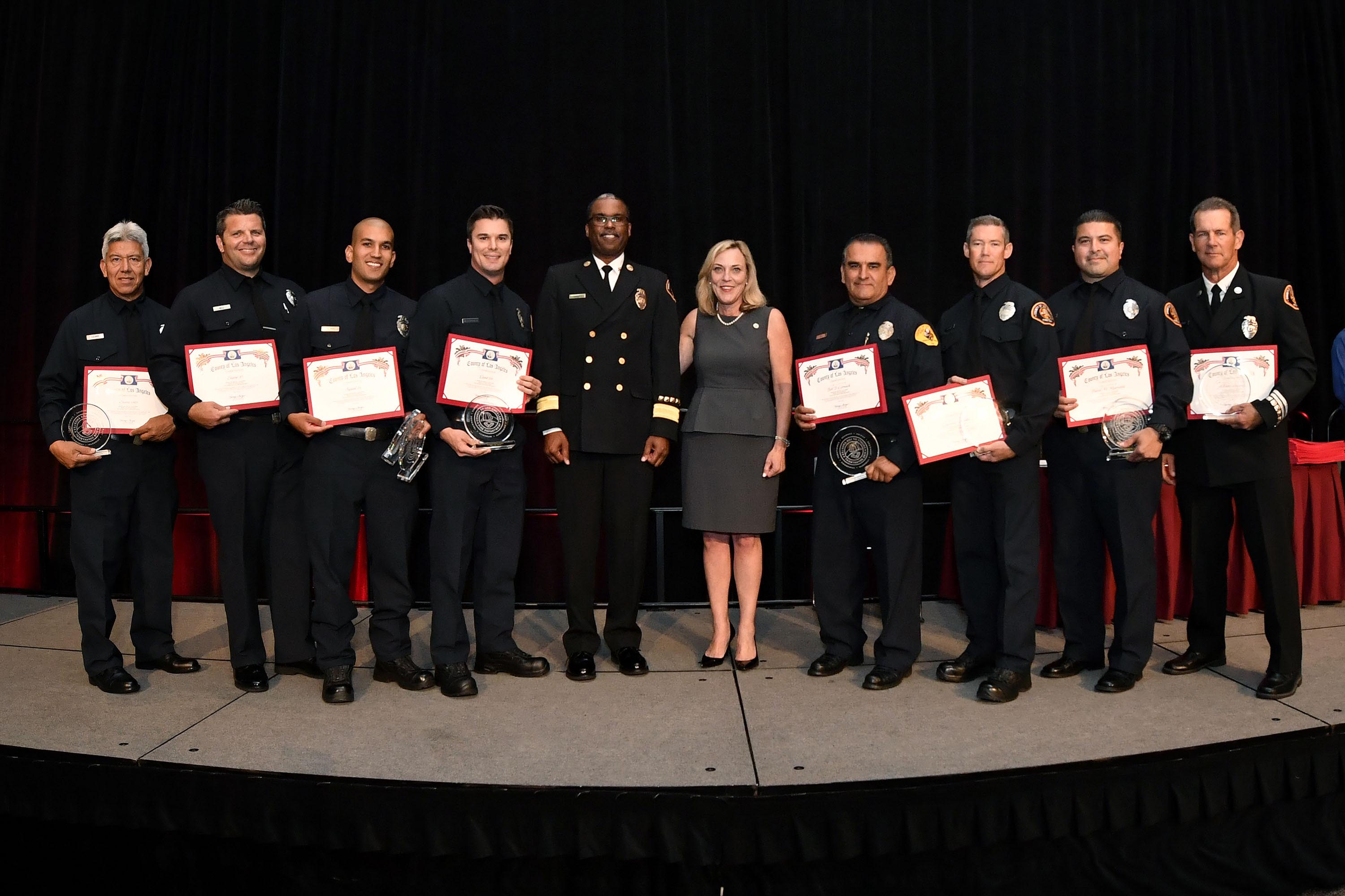 District 5 – Supervisor Kathryn Barger<br>  <b>May 10, 2017 - L.A. County Fire Medal of Valor Awards.</b><br> <i>Photo by Martin Zamora / Board of Supervisors</i>