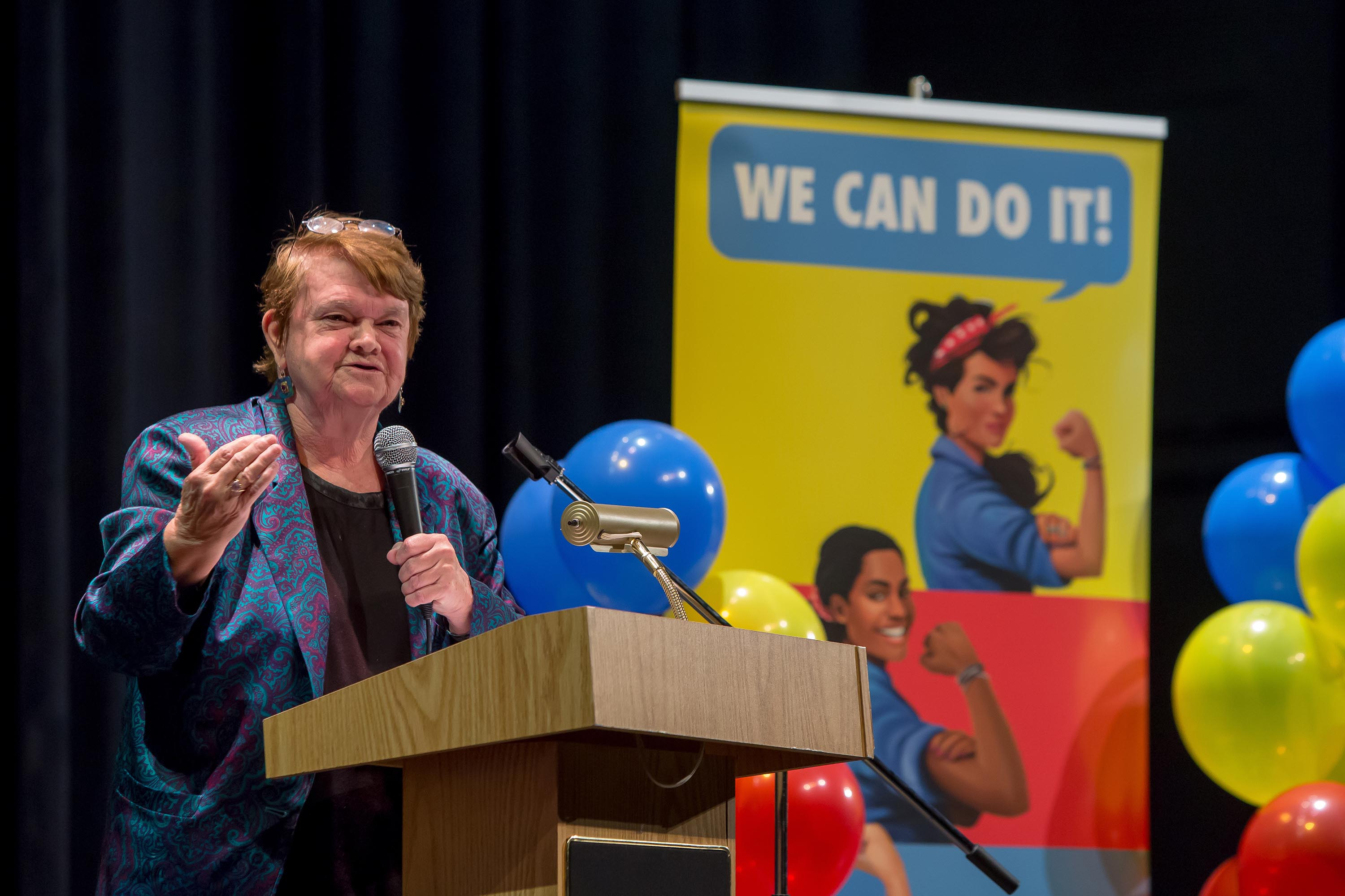 District 3 – Supervisor Sheila Kuehl<br>  <b>May 13, 2017 - Girls Build LA Expo.</b><br>   <i>Photo by Monica Almeida / For the Board of Supervisors</i>