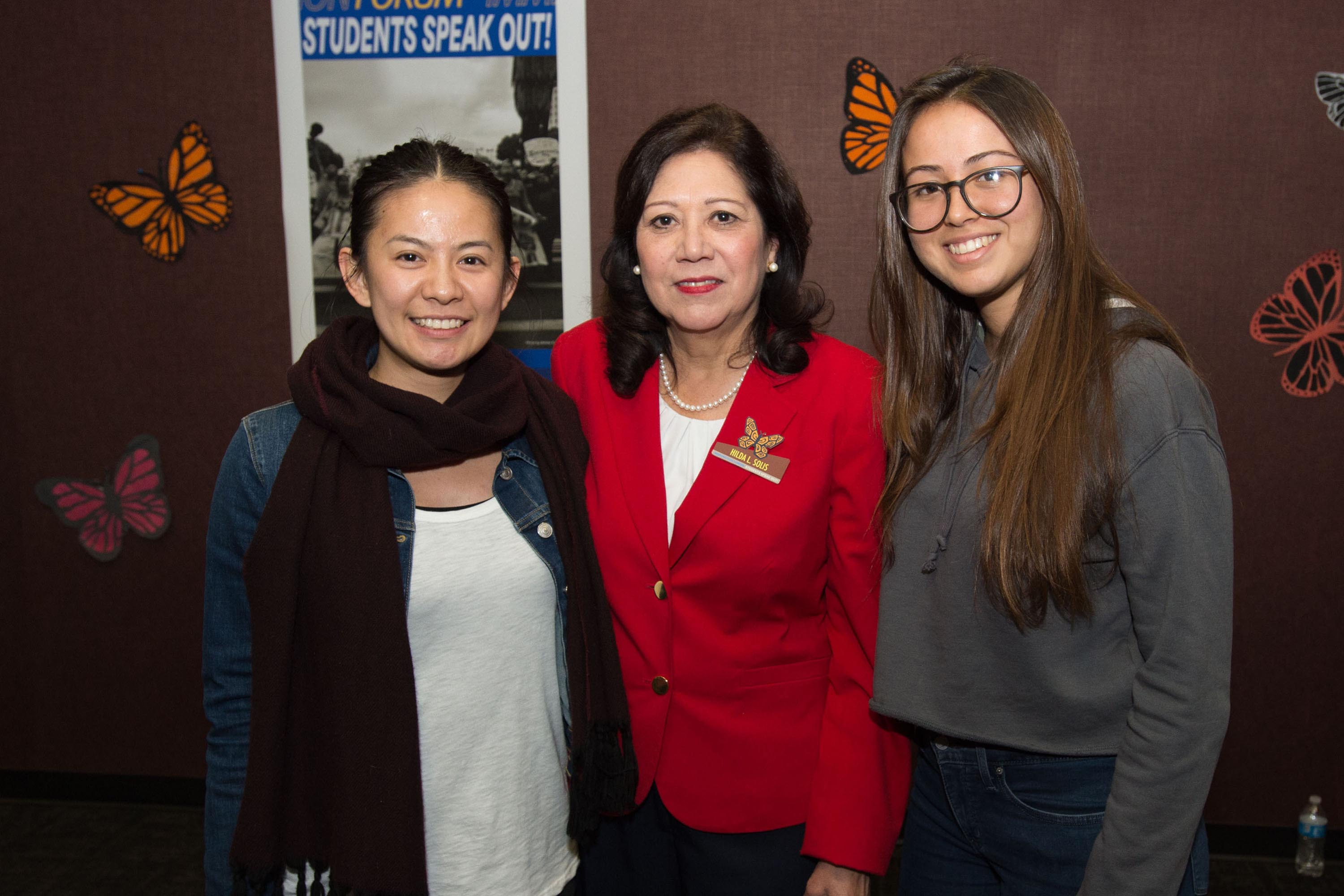 District 1 – Supervisor Hilda L. Solis<br> <b>March 5, 2018 – UCLA Labor Center's Immigrant Youth Forum. </b><br> <i>Photo by David Franco / Board of Supervisors</i>