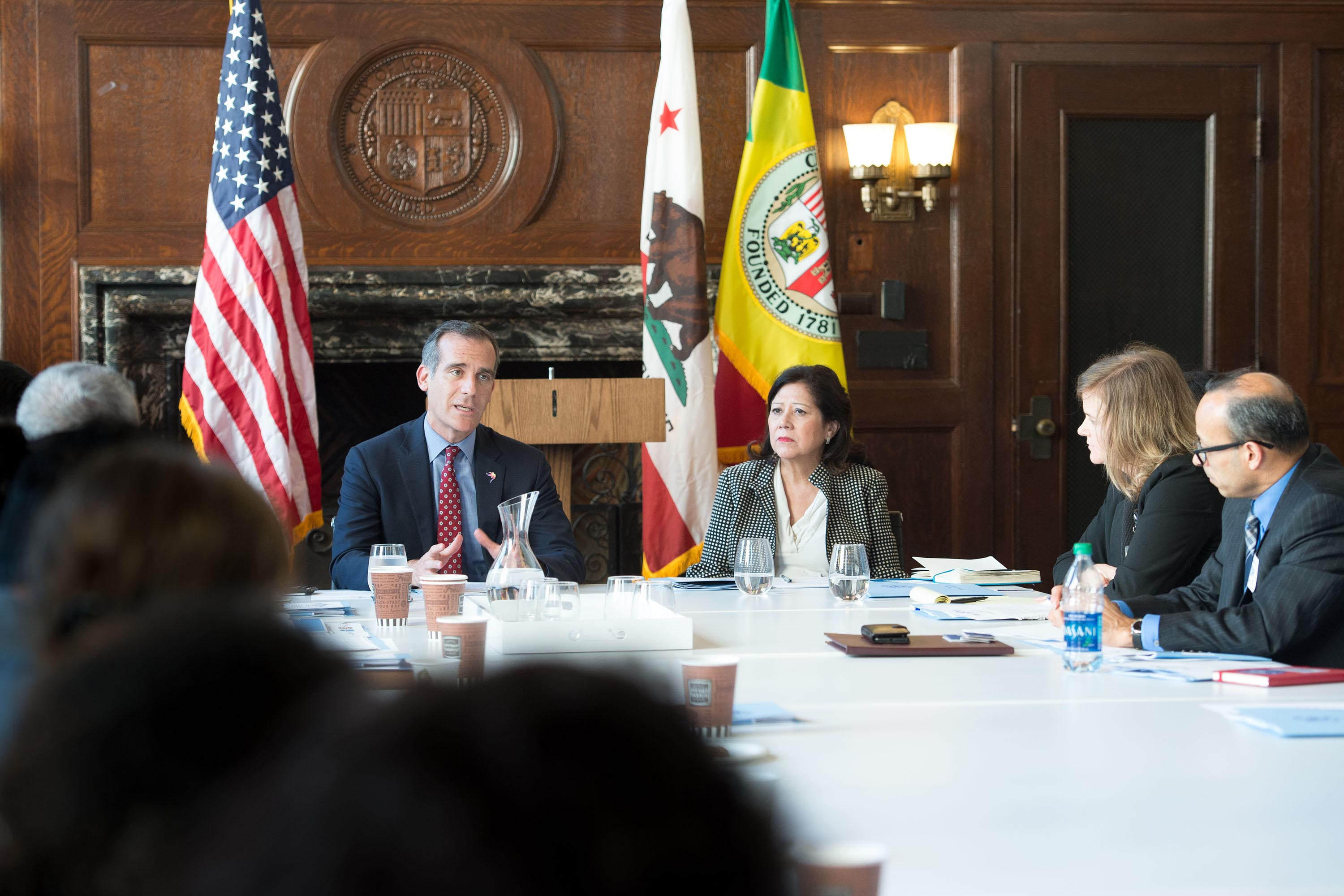 District 1 – Supervisor Hilda L. Solis<br> <b>June 28, 2018 – Roundtable Discussion on Immigration. </b><br> <i>Photo by Bryan Chan / Board of Supervisors</i>