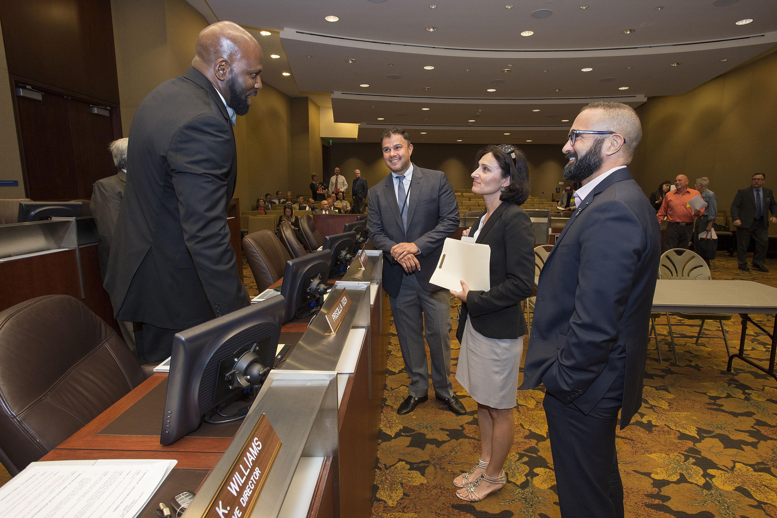 Sheriff Civilian Oversight Commission<br> <b>Sept. 27, 2018 – Meeting</b><br> <i>Photo by Diandra Jay / Board of Supervisors</i>