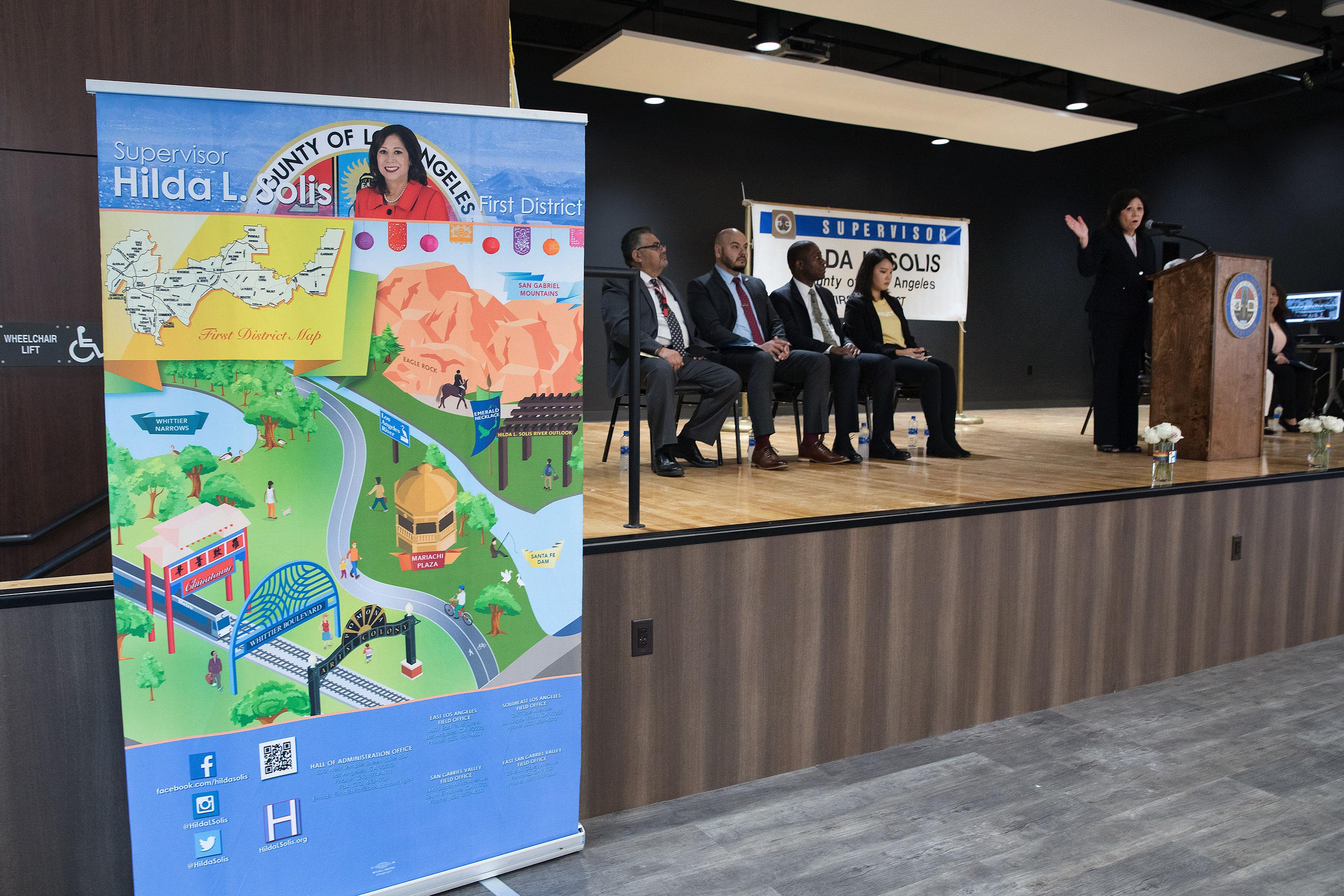 District 1 – Supervisor Hilda L. Solis<br> <b>June 5, 2019 – Small Business Expo. </b><br> <i>Photo by Steven Georges / For the Board of Supervisors</i>
