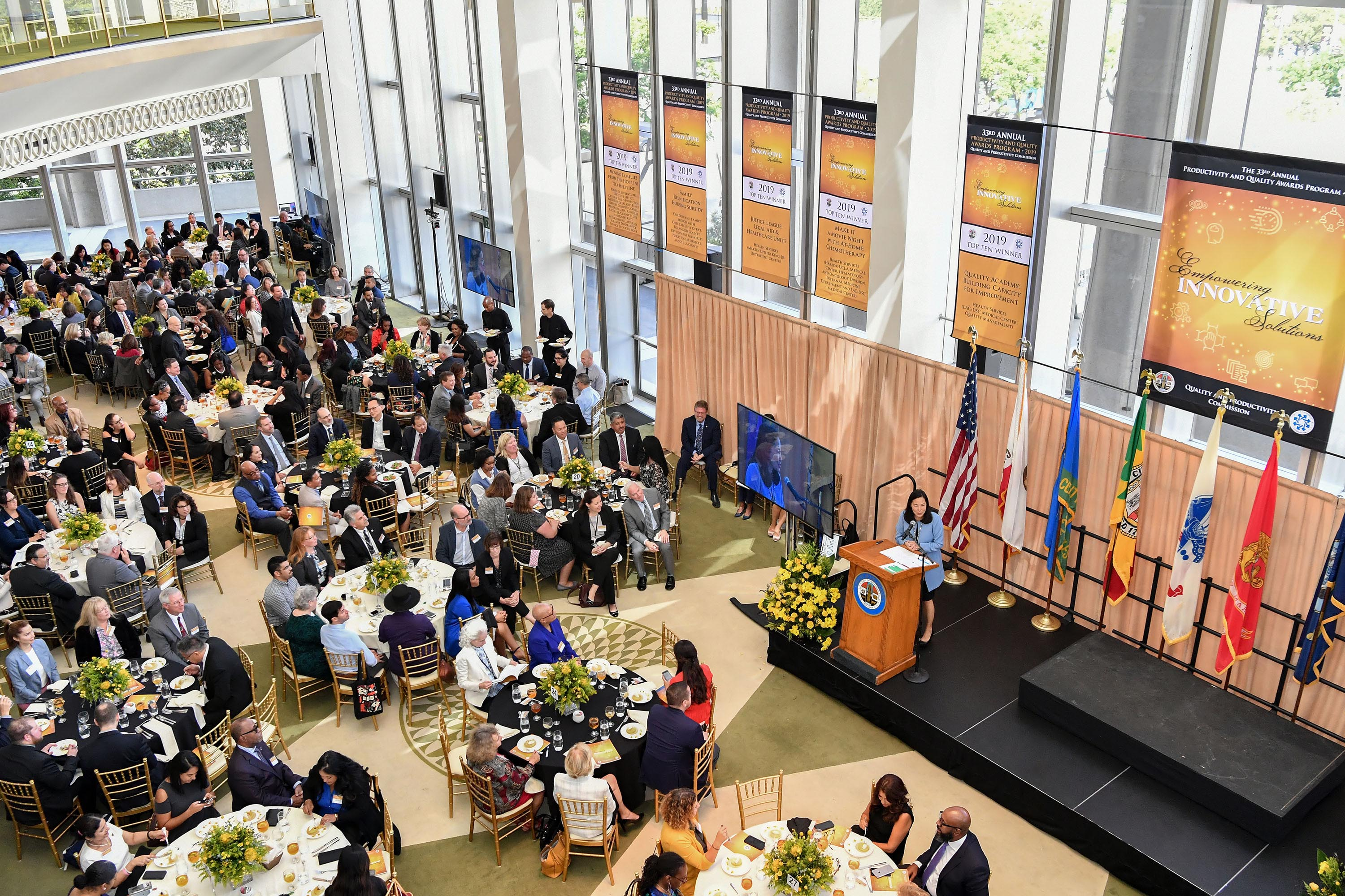 Quality and Productivity Commission<br> <b>Oct. 16, 2019 – 33rd Annual Productivity and Quality Awards</b><br> <i>Photo by Martin Zamora / Board of Supervisors</i>