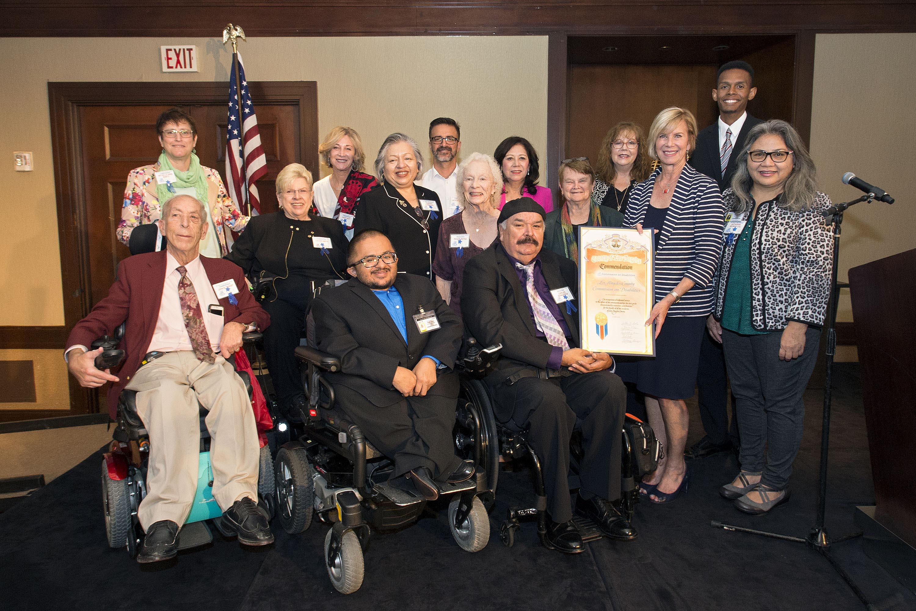 Commission on Disabilities<br> <b>Oct. 21 2019 – Awards luncheon</b><br> <i>Photo by Diandra Jay / Board of Supervisors</i>