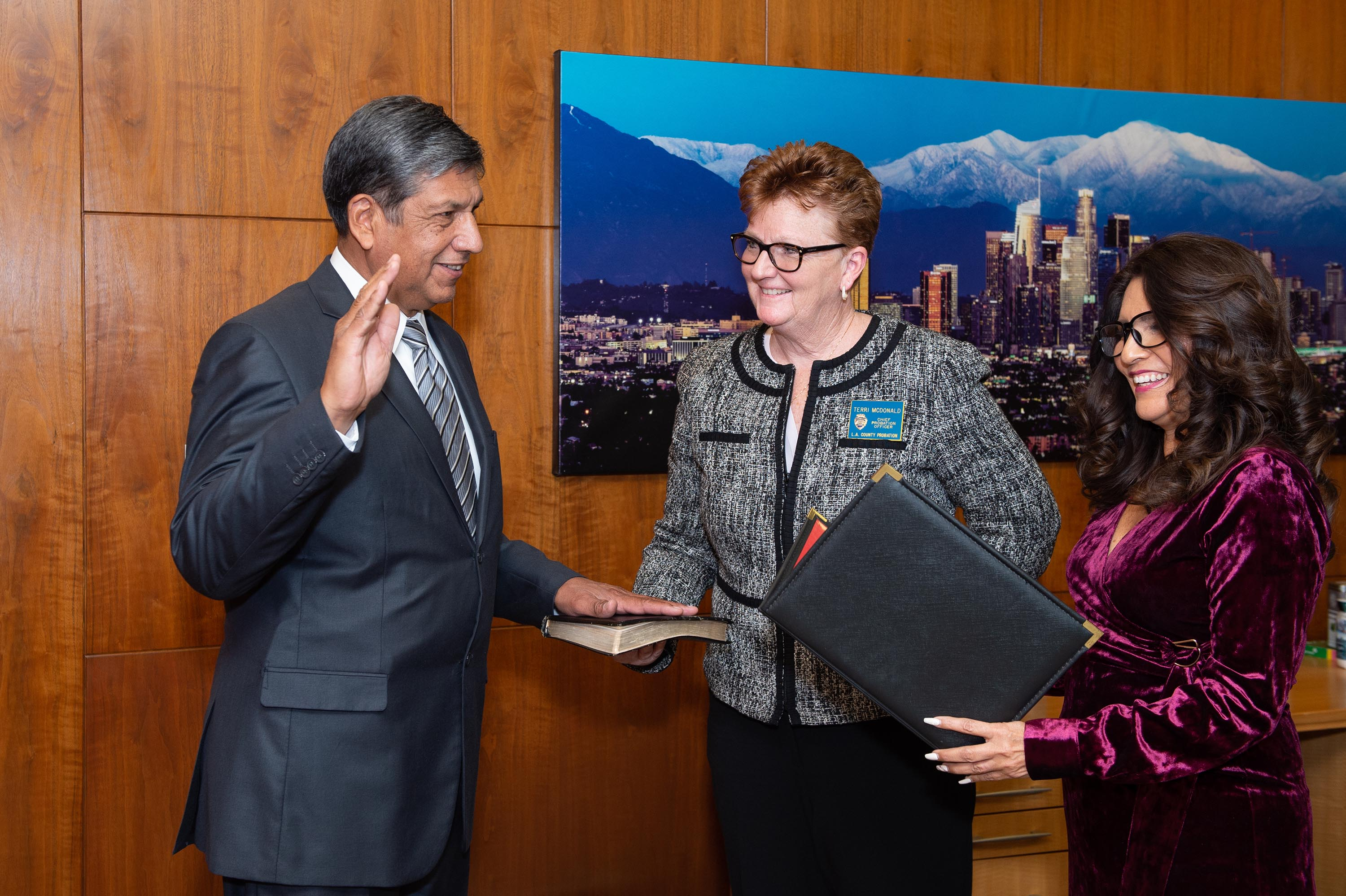 Executive Office<br>  <b>Jan. 7, 2020 - Raymond Levya, Interim Chief Probation Officer.</b><br>  <i>Photo by Bryan Chan / Board of Supervisors</i>