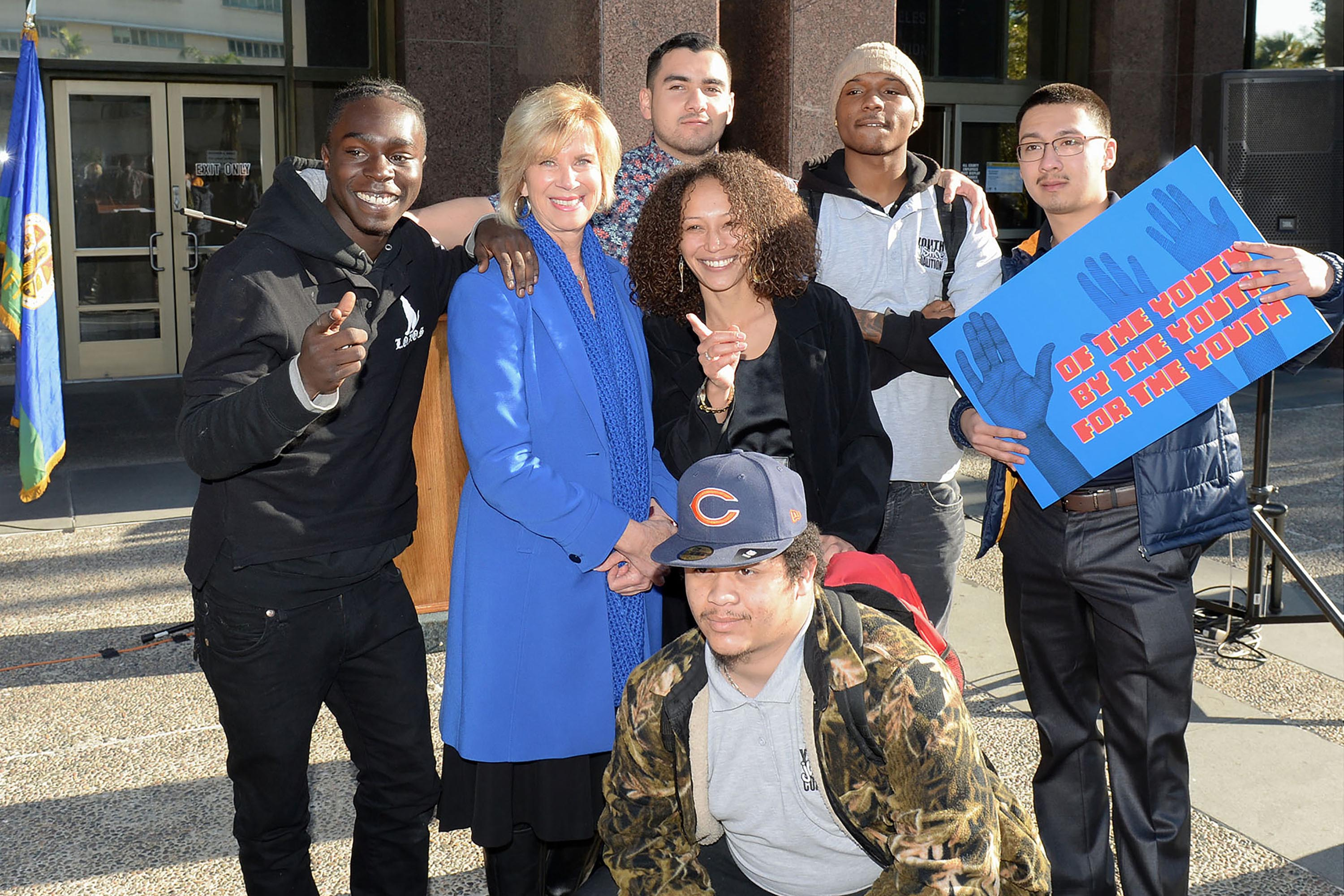 District 4 – Supervisor Janice Hahn<br> <b>Feb. 4, 2020 – Youth Commission Press Conference. </b><br> <i>Photo by Martin Zamora / Board of Supervisors</i>