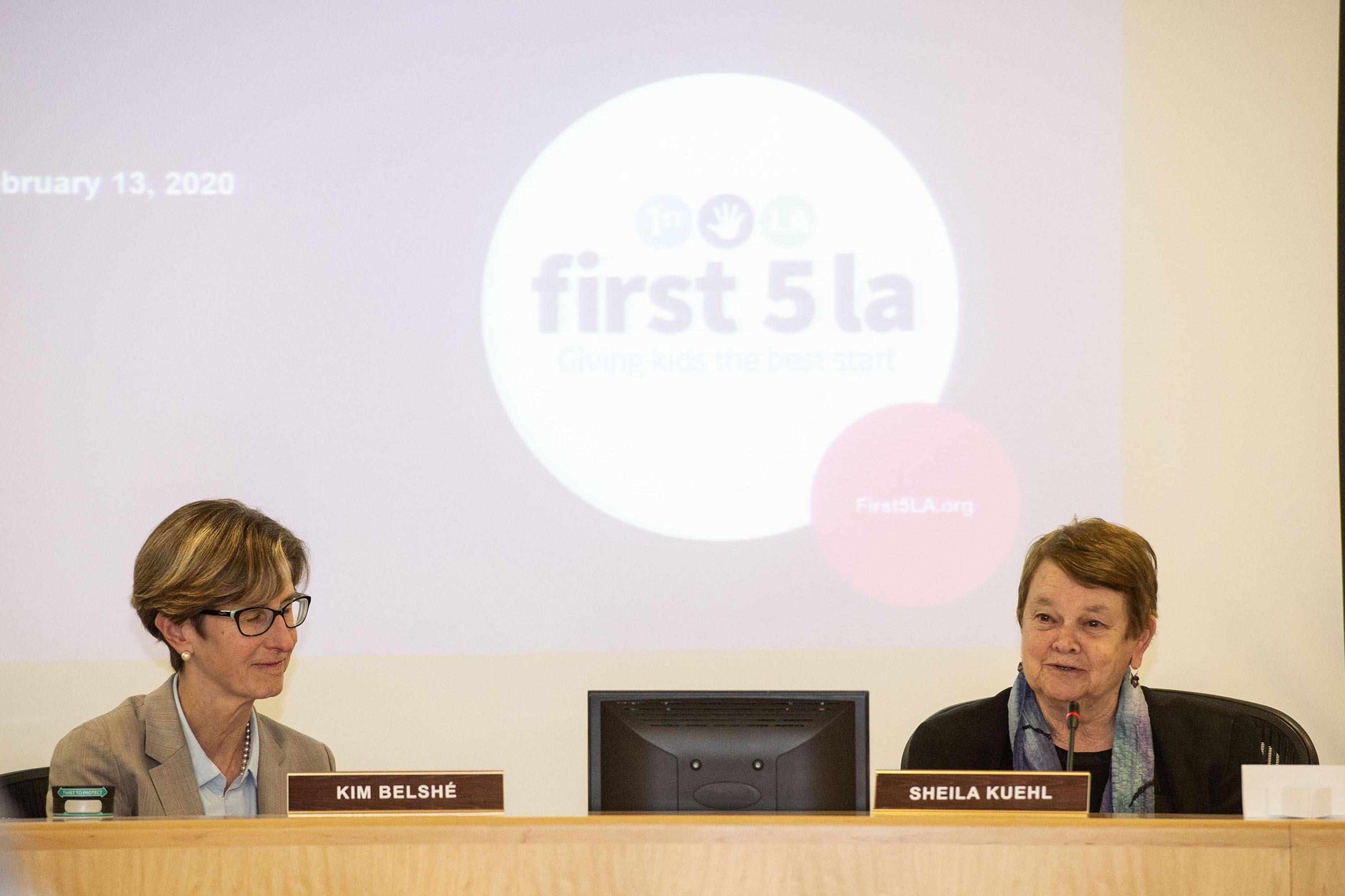 District 3 – Supervisor Sheila Kuehl<br> <b>Feb. 13, 2020 – First 5 LA Meeting of the Board of Commissioners. </b><br> <i>Photo by Karen Quincy Loberg / For the Board of Supervisors</i>