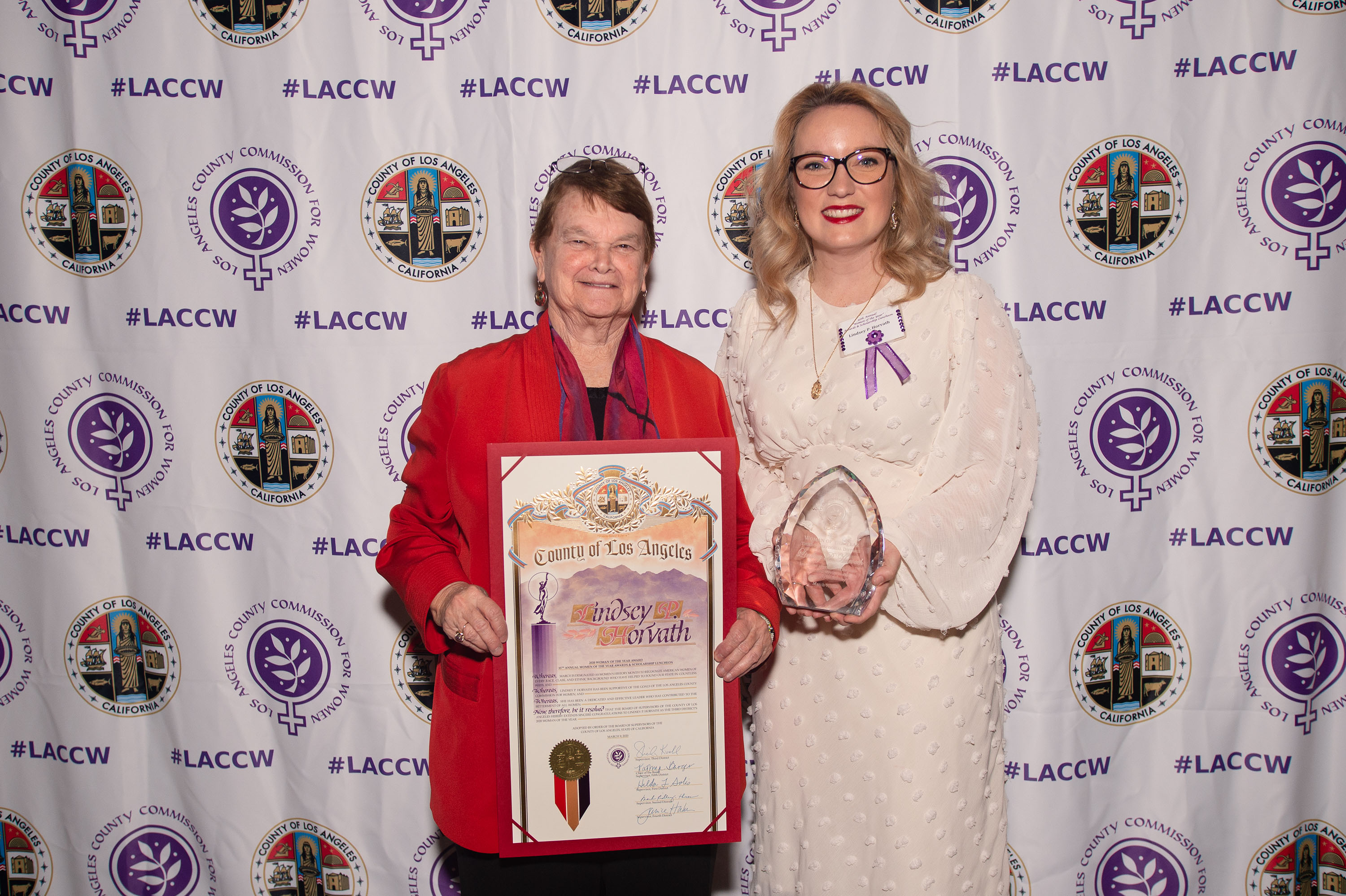District 3 – Supervisor Sheila Kuehl<br> <b>March 9, 2020 – Women of the Year Awards Luncheon </b><br> <i>Photo by Bryan Chan / Board of Supervisors</i>