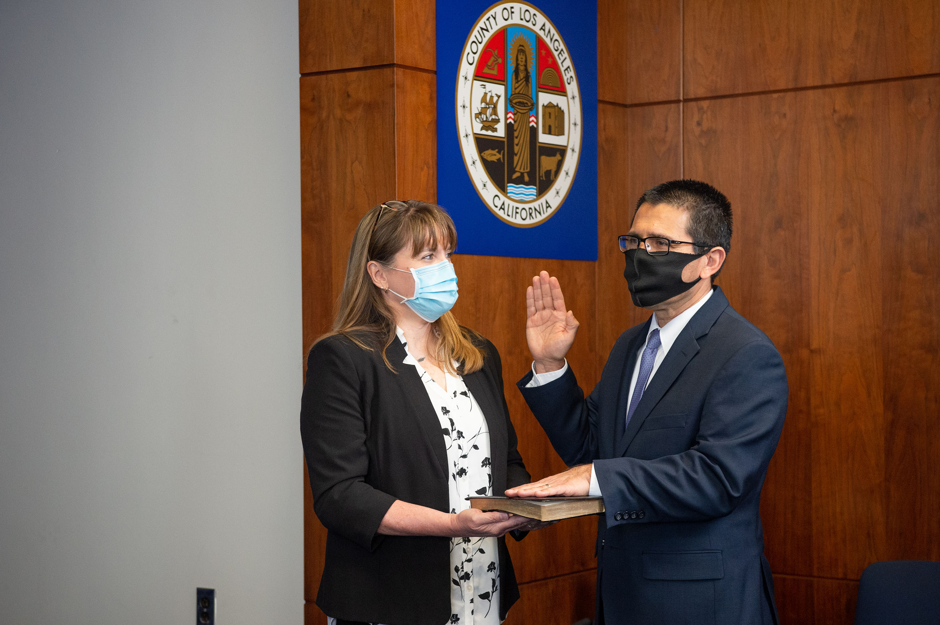 Executive Office<br><b>Jan. 6, 2021 - Rodrigo Castro-Silva County Counsel Oath of Office</b><br>  <i>Photo by Bryan Chan / Board of Supervisors</i>