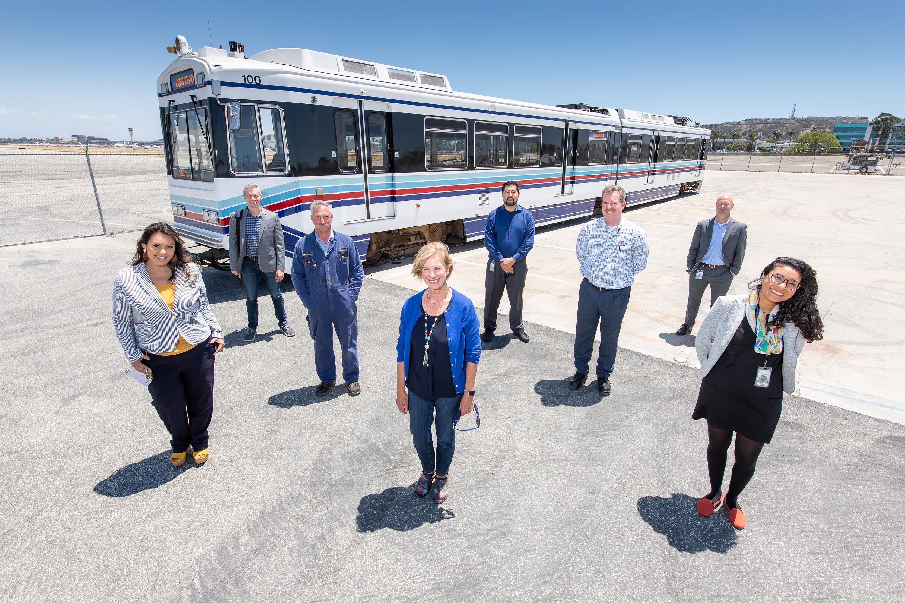 District 4 – Supervisor Janice Hahn<br>  <b>May 21, 2021 – Metro Car 100 Preservation </b><br> <i>Photo by Bryan Chan / Board of Supervisors</i>