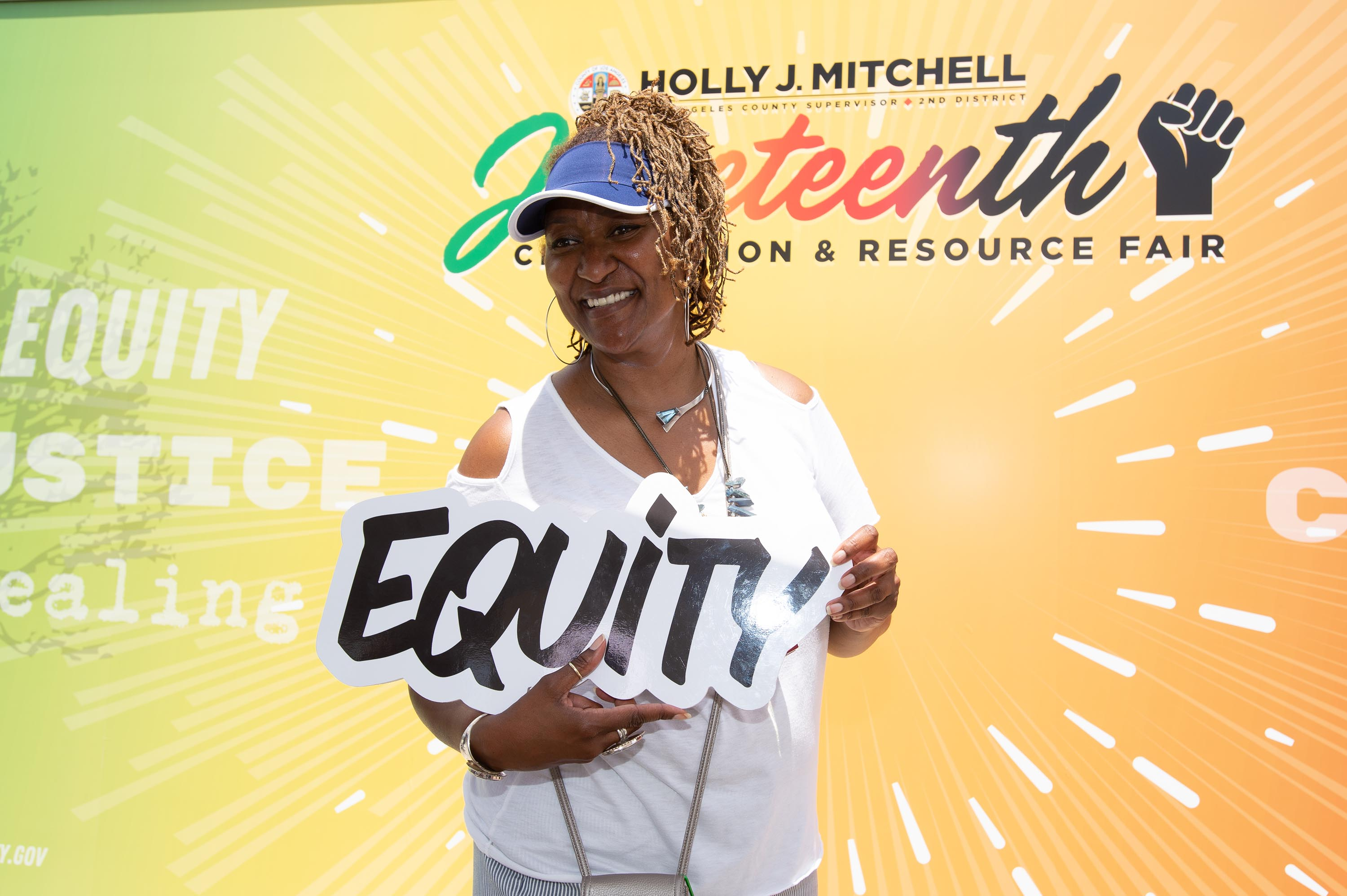 District 2 – Supervisor Holly J. Mitchell<br>  <b>June 18, 2021 – Juneteenth </b><br>   <i>Photo by David Franco / Board of Supervisors</i>